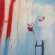 Alltid tillsammans/Always together. Åsa Chambert. Olja på duk/Oil on canvas. 55x55 cm.